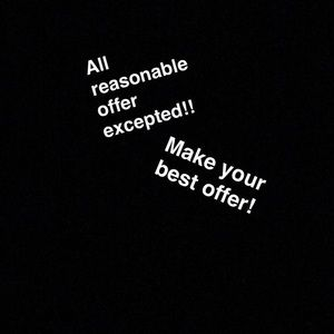All offers excepted!